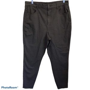 American Eagle High Rise Houndstooth Pants .Sz 20
